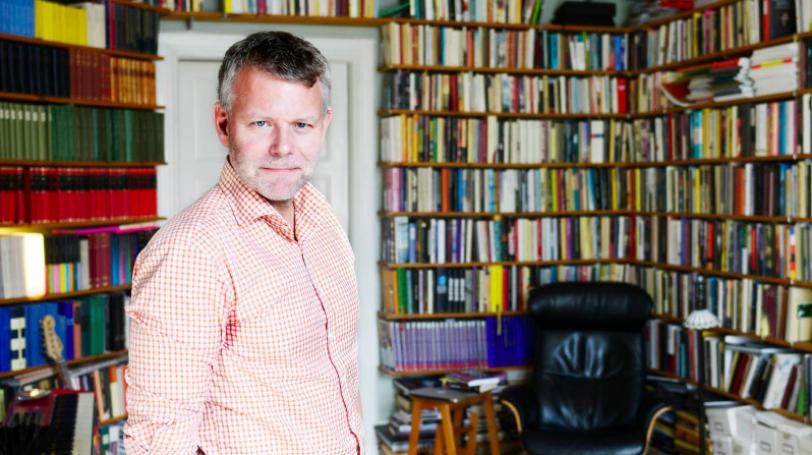 Arne Dahl fotograferad av Margareta Bloom Sandebäck